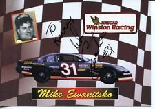 Mike Ewanitsko NASCAR Modified Camping World Truck Driver Signed Autograph Photo