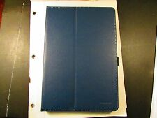 Moko Zj Nexus 9 Tablet Folio Stand Book Cover Case BLUE w/strap! LOT of 100