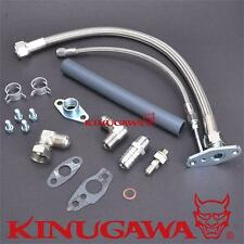 Turbo Oil Feed & Return Line Kit TOYOTA 3S-GTE 3SGTE Rev 1 & 2 MR2 w/ CT26