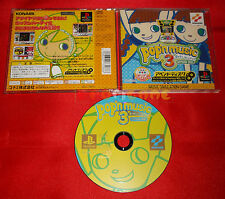 POP'N MUSIC 3 APPEND DISC (Richiede Pop'n Music 2) Ps1 Japan Version USATO - C6