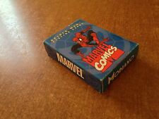 MARVEL COMICS MODIANO CARTE DA GIOCO COMPLETE SPIDER-MAN PLAYING CARDS OTTIME
