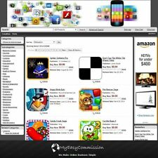 iPhone & Android Apps FREE Domain Name Automated Amazon Affilliate Store Adsense