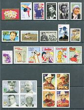 US 2010 Complete Commemorative Year Set - 61 Stamps -41 Stamps & 2 Sheets USA NH
