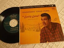 TENNESSEE ERNIE FORD CAPITOL EP 700 PART 2 THIS LUSTY LAND DARK AS A DUNGEON &3