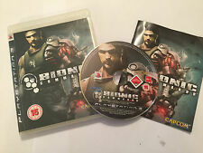 SONY PS3 PLAYSTATION 3 GAME BIONIC COMMANDO +BOX INSTRUCTION COMPLETE PAL GWO