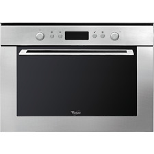 Whirlpool AMW820IX Ambient Built-in Microwave with Grill in Stainless Steel
