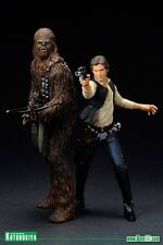 Star Wars 1/10 Han Solo & Chewbacca A New Hope ArtFX Statue Kotobukiya