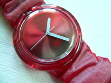 1993 Pop Swatch Watch Rouge  PMR100