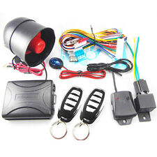 Auto Car Security Alarm System No Engine Start Stop Button Remote Central Lock