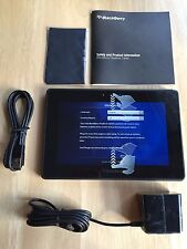 NEW BLACKBERRY PLAYBOOK EREADER TABLET 16GB Wi-Fi Only 7in P100-16WF + BUNDLE