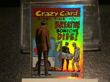 """2013 TOPPS 75TH ANNIVERSARY """"CRAZY CARDS"""" RAINBOW FOIL PARALLEL CARD #23"""
