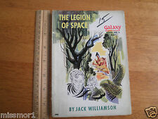 Galaxy Science Fiction 1950 pulp novel Jack Williamson Legion of Space