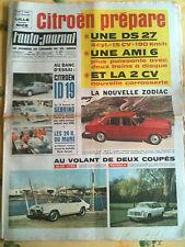 b)L'AUTO-JOURNAL n°400 du 4/1966 Essai ID 19/ 12 heures de Sebring/ 24 H du mans