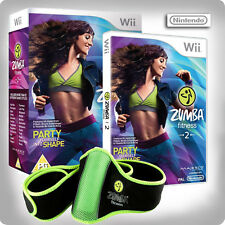 Zumba Fitness 2 - with fitness Belt Nintendo Wii *Boxed*