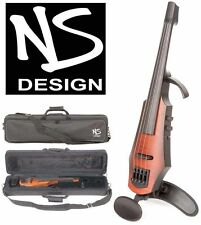 NS Design NXT-4 Electric 4-String Violin, Amber Burst