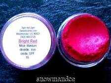 MINERAL MAKEUP~5gm~SWEETSCENTS~BARE~EYESHADOW~LOOSE POWDER~MICA~SATIN~BRIGHT RED