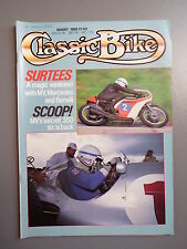 R&L Mag: Classic Bike 1988 August, OEC Specials/Puch SVS 175/Goff Norton Drag