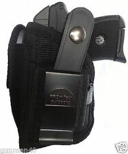 Pistol Side Holster With Extra Mag Pouch For Ruger LCP.380 With Laser