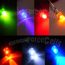 x 10 3mm 2 Broches 7 Couleur Lampe LED lampe Lumineux 20000 Mcd