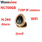 Wansview NC700GB 720P Network WIFI IP Camera Support ONVIF Alarm gold&white