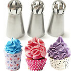 3pc Sphere Ball Tips Russian Icing Piping Nozzles Tips Cake Decor Pastry Cupcake