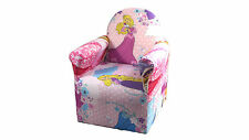 PRINCESS DISNEY TV CHARACTERS FABRIC CHAIR ARMCHAIR PLAYROOM BEDROOM SEATS
