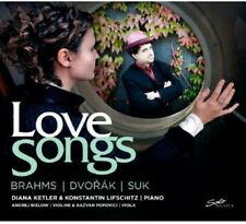 Love Songs - Brahms/Dvorak/Suk (2012, CD NIEUW)