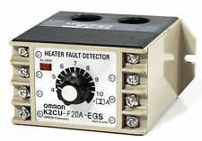 OMRON K2CU-F20A-EGS Heater fault detector. 200V Source 25A with Gate Input Termi