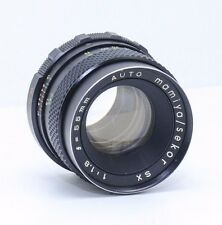 Mamiya Sekor Auto 55mm f/1.8 SX, M42 Screw Mount Excellent Condition, 2349