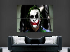 THE JOKER BATMAN THE MOVIE ART KEITH LEDGER WALL POSTER ART PICTURE PRINT LARGE