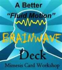 "A BETTER ""Fluid"" BRAINWAVE DECK by the Mimesis Gimmick & Gaff Card Workshop"