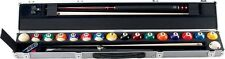Aramith Ball & 2x2 Pool Cue Case  Aluminum  Very nice!