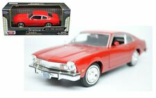MOTOR MAX 1:24 WINDOW BOX 1974 FORD MAVERICK Diecast Car Model 73326