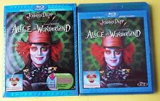 ALICE IN WONDERLAND SLIPCASE WALT DISNEY BLURAY
