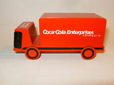 RARE Camion métal COCA COLA ENTERPRISES CCE version Clock / Montre proche 1/43
