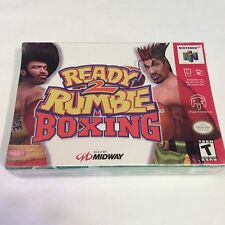 "Ready 2 Rumble Boxing (Nintendo 64, 1999) ""NEW"" Factory Sealed"