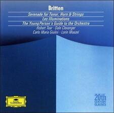 , Britten: Serenade; Les Illuminations; Young Person's Guide to the Orchestra, E