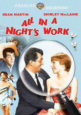 All in a Night's Work DVD (1961) - Dean Martin, Shirley MacLaine, Joseph Anthony