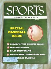Vintage Sports Illustrated - April 9, 1956 - Special Baseball Issue