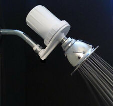 Shower Head Chlorine & Heavy Metal Filter. Long lasting filter life up to 2 yrs