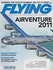 Flying Magazine (October 2011) (AirVenture, Garmin 796, Beech 400XT, Vans RVs)
