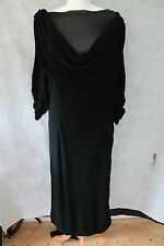 Ladies Vintage 1920's / 1930's Original Crepe Evening, Cocktail, Party Dress