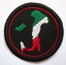 "Italy travel Map Merit Badge Mini 2"" Iron or Sew On Patch"