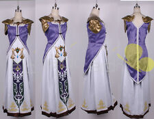 The Legend of Zelda Princess Zelda Cosplay Costume Tailored Any size