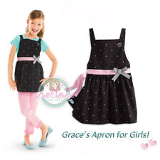 American Girl CL LE GRACES POLKA DOT APRON SZ SMALL 7-8 for Girls Chef Cook NEW