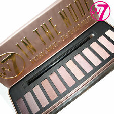 W7 IN THE NUDE EYESHADOW PALETTE TIN – NUDE SHADOWS – BRAND NEW!