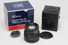 Bronica GS-1 150mm f4 Zenzanon-PG Lens 150/4                                #848