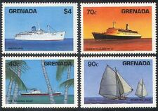 Grenada 1984 Ships/Boats/Nautical/Transport/Commerce/Industry 4v set (n40183)