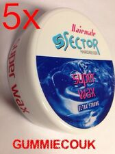 5 X 150 Ml Sector Super Wax, Bubblegum Wax, Super Wax,Hairmate Wax