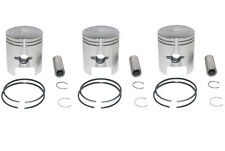 Kawasaki S2 350SS 1.0mm Oversize Pistons Set 3 Pistons Include CI-S2PS-2